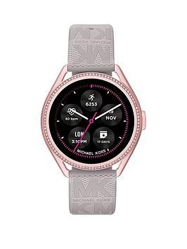 michael-kors-gen-5e-mkgo-smartwatch-gray-rubber