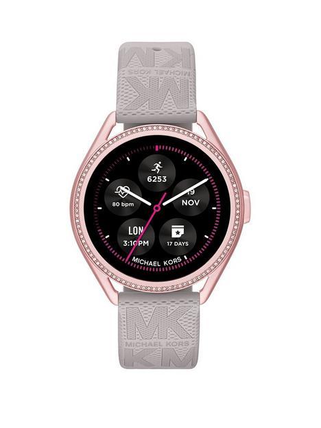 michael-kors-michael-kors-gen-5e-mkgo-smartwatch-gray-rubber