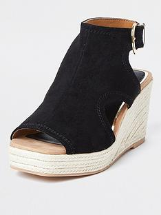 river-island-wide-fit-cut-out-wedge-black