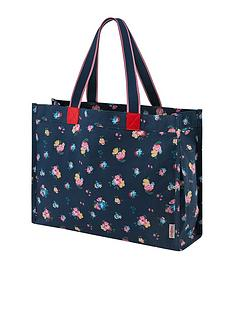 cath-kidston-park-meadow-bunch-milly-tote-bag-navy