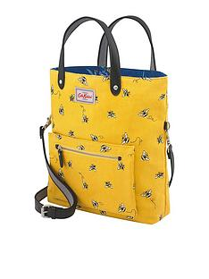 cath-kidston-reversiblenbspbee-and-flowernbspcrossbody-bag-yellownavy