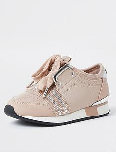 river-island-mini-girls-diamante-runner-trainer--nbsppink