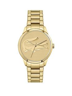 lacoste-lacoste-ladycroc-watch-with-yellow-gold-ip-bracelet-and-dial