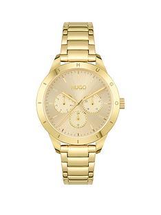 hugo-hugo-friend-light-yellow-gold-dial-and-light-yellow-gold-bracelet-ladies-watch