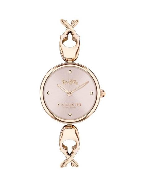 coach-coach-carroll-gold-plated-stainless-steel-bracelet-strap