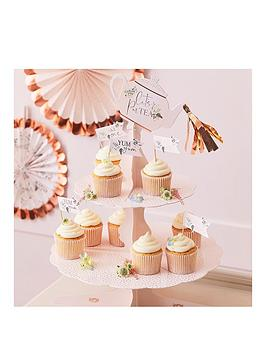 ginger-ray-cake-stand-floral-tea-pot