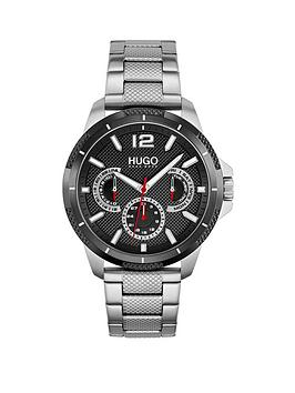 hugo-hugo-sport-black-dial-and-stainless-steel-bracelet-gents-watch