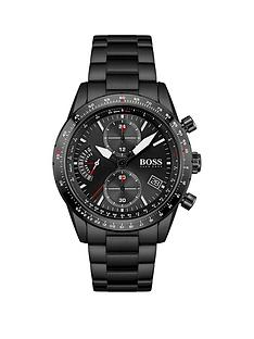 boss-boss-pilot-edition-chrono-black-dial-black-bracelet-gents-watch