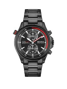 boss-boss-globetrotter-black-dial-black-bracelet-gents-watch
