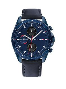 tommy-hilfiger-tommy-hilfiger-blue-ip-case-blue-dial-leather-strap-watch