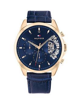 tommy-hilfiger-tommy-hilfiger-carnation-gold-ip-case-blue-dial-blue-leather-strap-watch