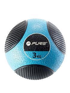 pure2improve-deluxe-medicine-ball-3kg
