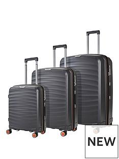 rock-luggage-sunwave-8-wheel-suitcases-3-piece-set-charcoal