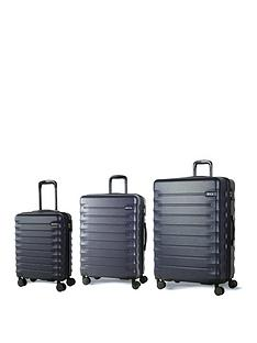 rock-luggage-synergy-8-wheel-suitcases-3-piece-set-navy