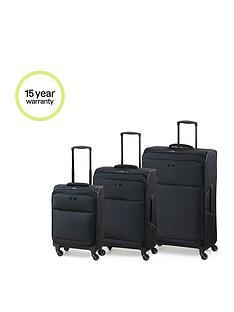 rock-luggage-ever-lite-4-wheel-suitcases-3-piece-set-black