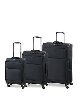 rock-luggage-ever-lite-4-wheel-suitcases-3-piece-set-black