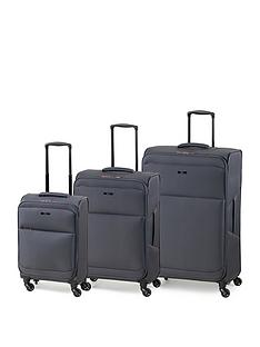 rock-luggage-ever-lite-4-wheel-suitcases-3-piece-set-charcoal