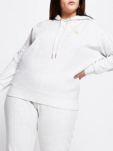 ri-plus-seam-detail-hoodie-grey-marl