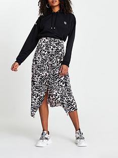 river-island-printed-knot-detail-midaxi-skirt-pinkblack