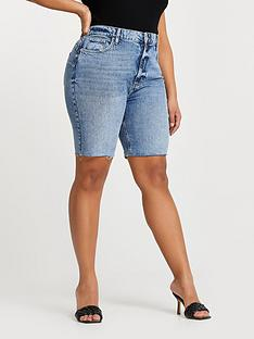 ri-plus-bum-sculpt-denim-short-blue