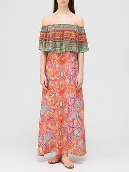 inoa-modena-crystal-embellished-frill-neck-dress-multi