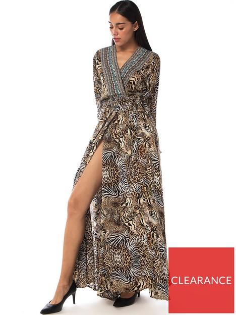 inoa-savannahnbspluxnbspcrystal-embellishednbspsilk-robe-brown