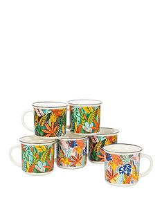 waterside-6-piece-carnival-leaves-mug-set