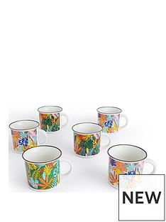 waterside-6-piece-carnival-leaves-mug-set