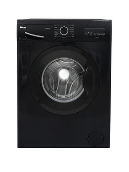 Swan Swansw15821B 7Kg Load, 1200 Spin Washing Machine - Black
