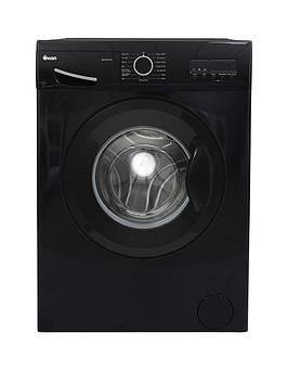 Swan Swansw15831B 8Kg Load, 1200 Spin Washing Machine - Black