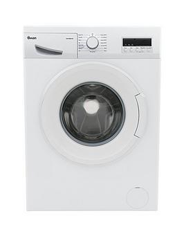 Swan Swansw15841W 9Kg Load, 1200 Spin Washing Machine - White