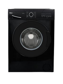 Swan Swansw15841B 9Kg Load, 1200 Spin Washing Machine - Black