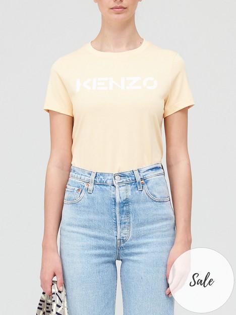 kenzo-classic-logo-t-shirt-peach