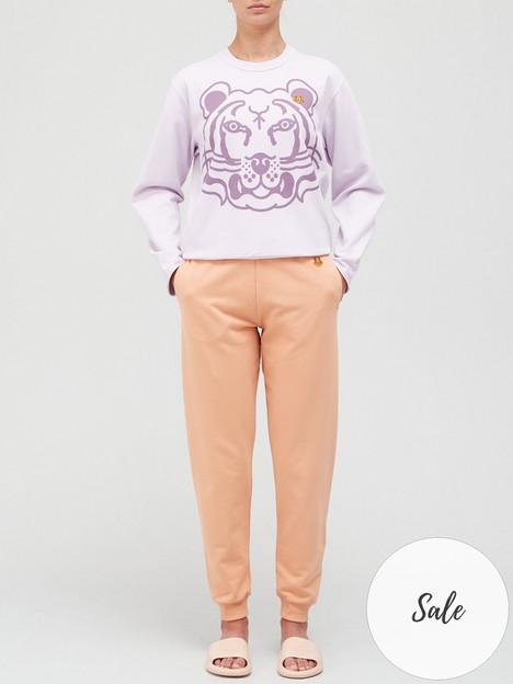 kenzo-tiger-print-sweatshirt-pink