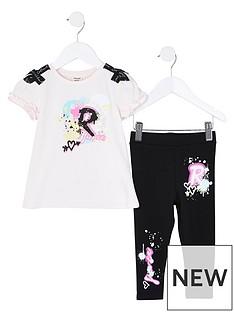 river-island-mini-mini-girls-grafitti-tshirt-and-legging-set-pink