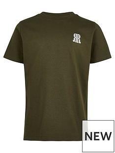 river-island-boys-logo-tshirt-khaki