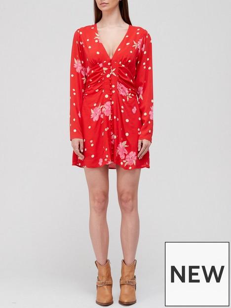 free-people-date-night-printed-mini-tea-dress-red
