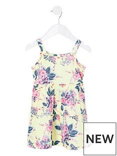 river-island-mini-girls-floral-cami-dress--nbspyellow