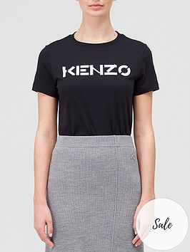 kenzo-classic-logo-t-shirt-black
