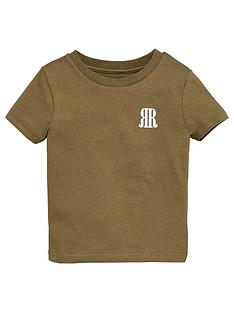river-island-mini-boys-rvr-t-shirt-khaki