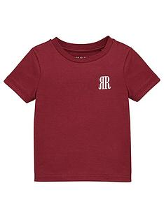 river-island-mini-boys-rvr-t-shirt-burgundy