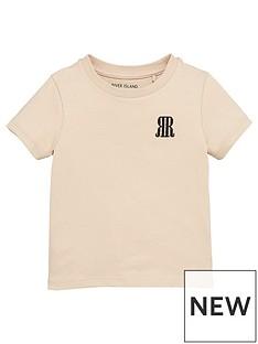 river-island-mini-mini-boys-logo-tshirt-stone