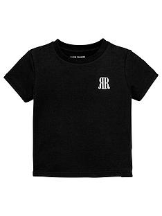 river-island-mini-boys-logo-t-shirt--nbspblack