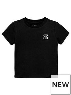 river-island-mini-mini-boys-logo-tshirt-black