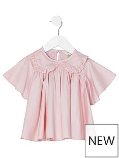 river-island-mini-mini-girls-poplin-shirt--nbsppink