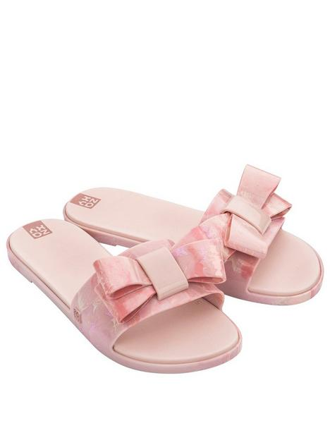 zaxy-sky-slide-bow-flat-sandal-blush