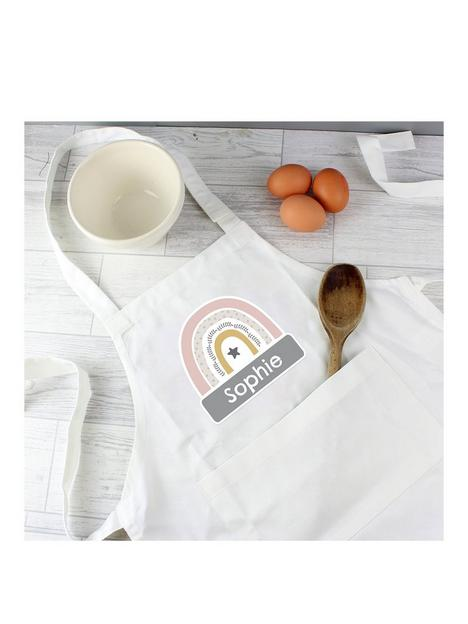 the-personalised-memento-company-personalised-childrens-rainbow-apron