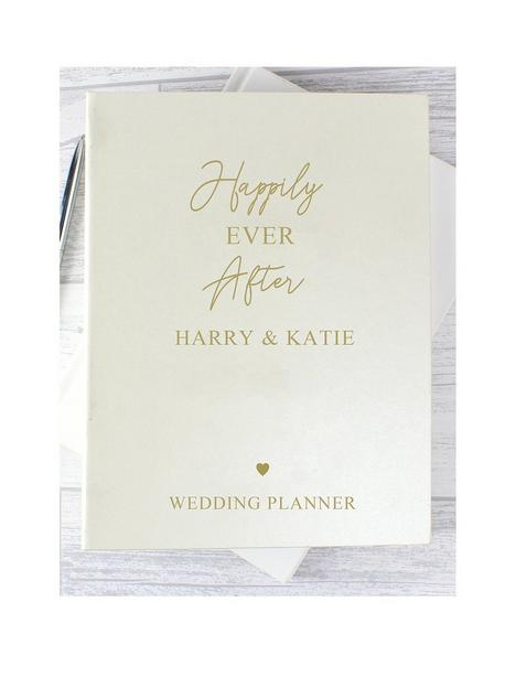 the-personalised-memento-company-personalised-happily-ever-after-wedding-planner