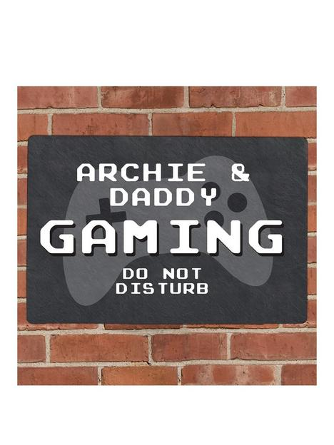 the-personalised-memento-company-personalised-gaming-metal-sign