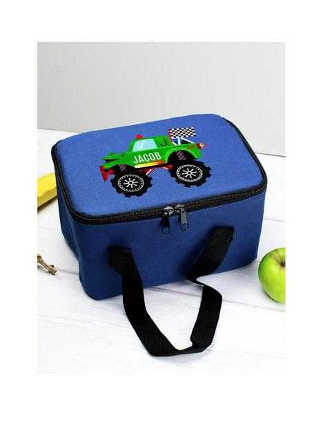 the-personalised-memento-company-personalised-monster-truck-lunch-bag